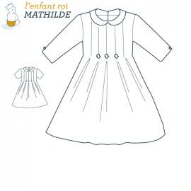 Patron l'Enfant Roi Robe Mathilde - de 2 ans à 8 ans