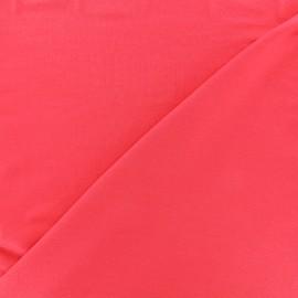 Oeko-tex jersey Bamboo Fabric - red coral
