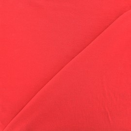 Oeko-tex jersey Bamboo Fabric - red x 10cm