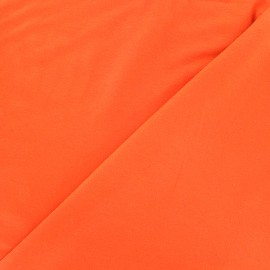 Oeko-tex jersey Bamboo Fabric - orange x 10cm
