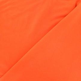 Tissu jersey Bambou - orange x 10cm