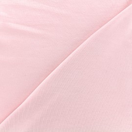 Jersey Bamboo Fabric - pale pink x 10cm