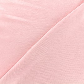 ♥ Coupon 190 cm X 145 cm ♥ Tissu jersey Bambou Oeko-tex - rose
