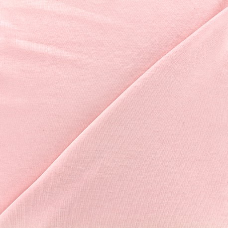 Jersey Bamboo Fabric - pink x 10cm