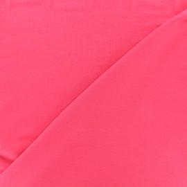 Tissu jersey Bambou - fuchsia x 10cm