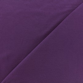 Oeko-tex jersey Bamboo Fabric - dark purple x 10cm