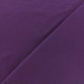 Tissu jersey Bambou - violet foncé x 10cm