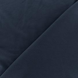 Tissu jersey Bambou - marine x 10cm