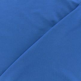 Tissu jersey Bambou - bleu navy x 10cm