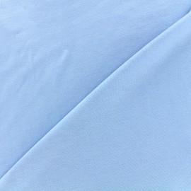 Tissu jersey Bambou - bleu ciel x 10cm