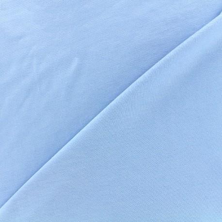 Jersey Bamboo Fabric - sky blue x 10cm