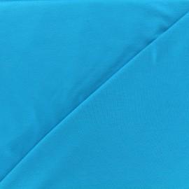 Tissu jersey Bambou - turquoise x 10cm