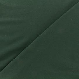 Tissu jersey Bambou - vert sapin x 10cm