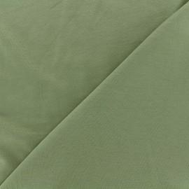Tissu jersey Bambou - kaki x 10cm