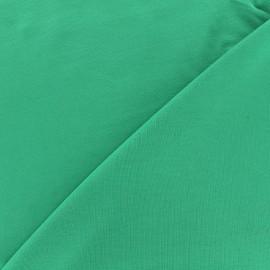 Tissu jersey Bambou - vert vif x 10cm