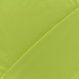 Tissu jersey Bambou - anis x 10cm