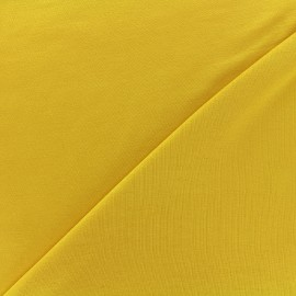 Oeko-tex jersey Bamboo Fabric - yellow x 10cm