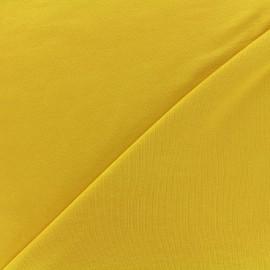 Tissu jersey Bambou - jaune x 10cm