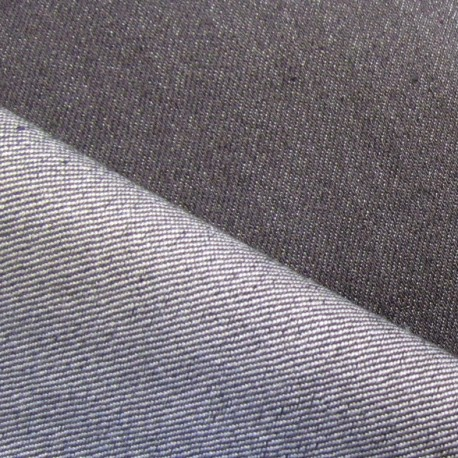 Jeans fabric - slate-grey x 10cm
