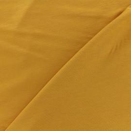 Tissu jersey Bambou - ocre x 10cm