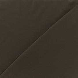 Tissu jersey Bambou - marron x 10cm