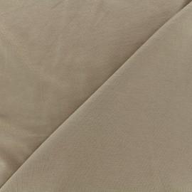 Tissu jersey Bambou - grège x 10cm