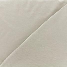 Tissu jersey Bambou - gris souris x 10cm
