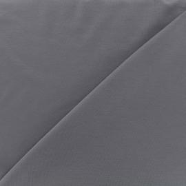 Tissu jersey Bambou - gris ardoise x 10cm