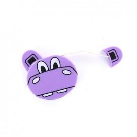 Mètre ruban enrouleur Zoo - Hippopotame