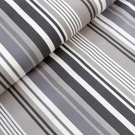 Tissu toile transat Playa La Rochelle (43cm) - gris x 10cm