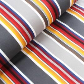 Tissu toile transat Playa Estoril (43cm) - gris x 10cm