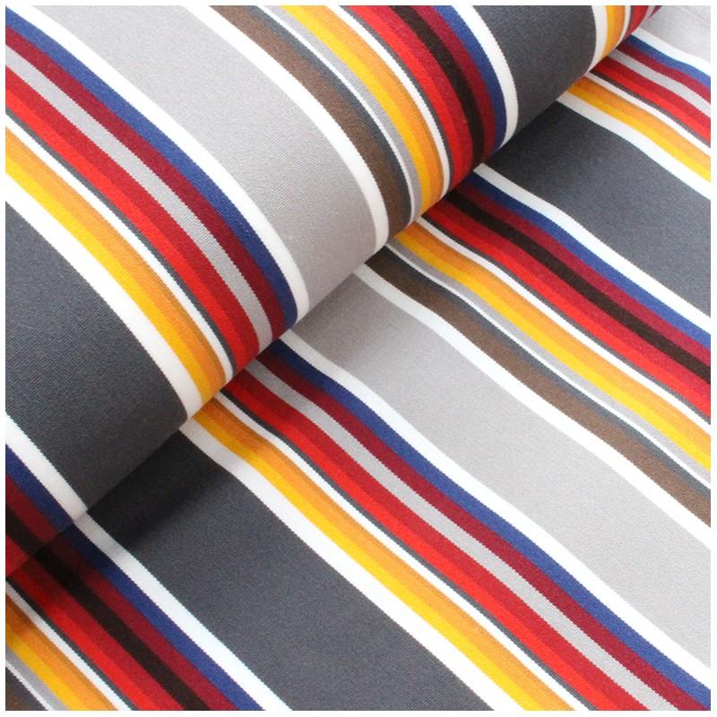 tissu toile transat playa estoril 43cm gris x 10cm. Black Bedroom Furniture Sets. Home Design Ideas