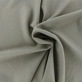 Tissu crêpe gaufré irisé - kaki/doré x 10cm