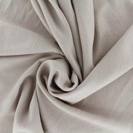 Tissu crêpe gaufré irisé - beige clair/doré x 10cm