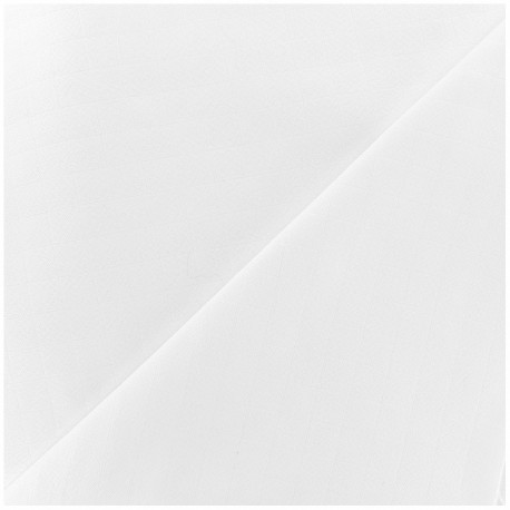 Oraganic cotton muslin Bébé lange fabric - white x 10cm