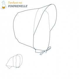 Pimprenelle Hat L'Enfant Roi sewing pattern - From 3 months to 12 years old