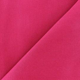 Tissu toile Plein Air uni (320cm) - fuchsia x 10cm