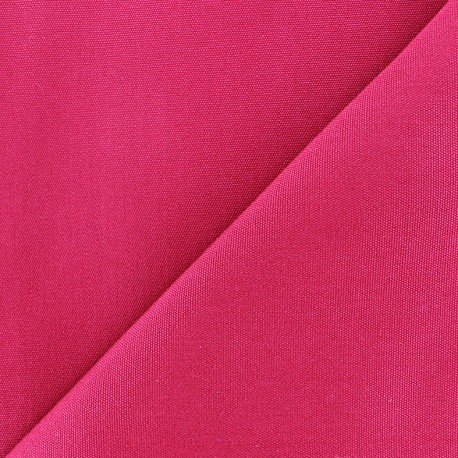 Tissu toile Plein Air 320cm - fuchsia x 10cm