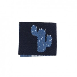 Madame Casse Bonbon woven label - Kaktus