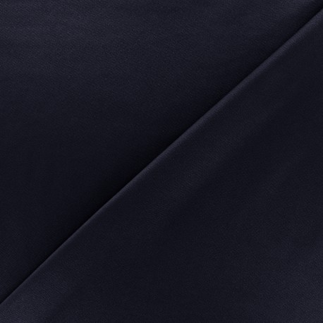 Thick Swimsuit Lycra fabric - navy blue x 10cm