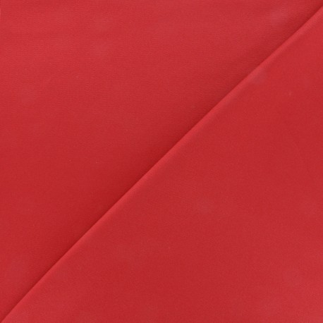 Thick Swimsuit Lycra fabric - red x 10cm