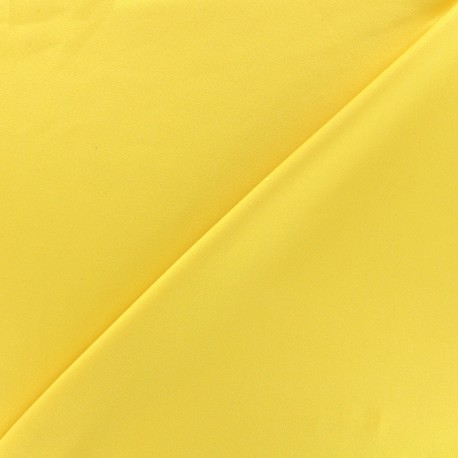 Thick Swimsuit Lycra fabric - yellow x 10cm