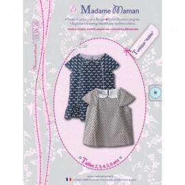 Patron Madame Maman Tunique - Adèle