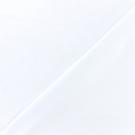 Thick Swimsuit Lycra fabric - white x 10cm