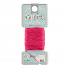 Embroidery thread Sara 20m - grenadine n° 65