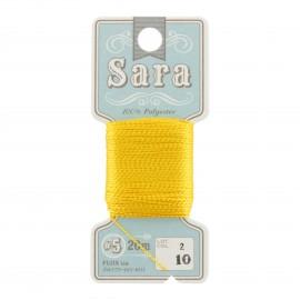 Sara Embroidery Thread 20m - sun n° 10