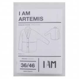 Patron I AM Manteau - I am Artemis