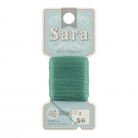 Embroidery thread Sara 20m - sapin n° 56