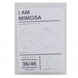 Patron I AM Cape avec poches - I am Mimosa