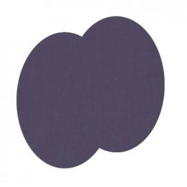 Genouillères-coudières thermocollants Uni FrouFrou -  Violet sage